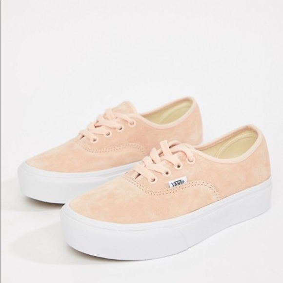 Vans Shoes   Limited Edition Pink Suede